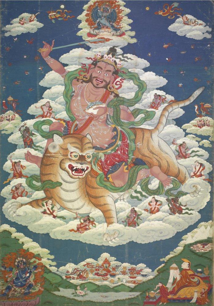 Название: Tsong_Khapa_as_Dombi_Heruka_Distemper_on_cloth_Tibet_19_век_-_Sotheby's_files.jpg Просмотров: 263  Размер: 185.0 Кб