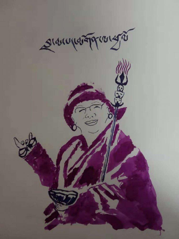 Название: Lama drawing.jpg Просмотров: 590  Размер: 67.8 Кб