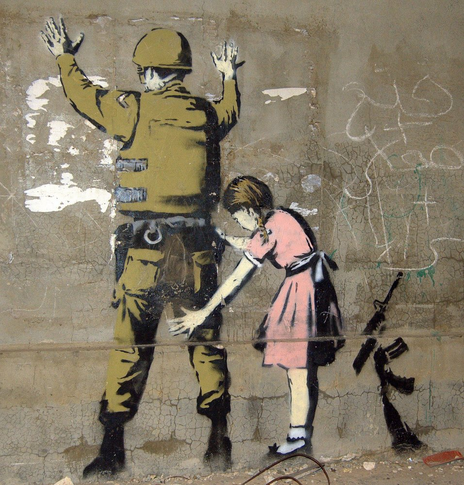 Название: Bethlehem_Wall_Graffiti_1.jpg Просмотров: 449  Размер: 294.0 Кб